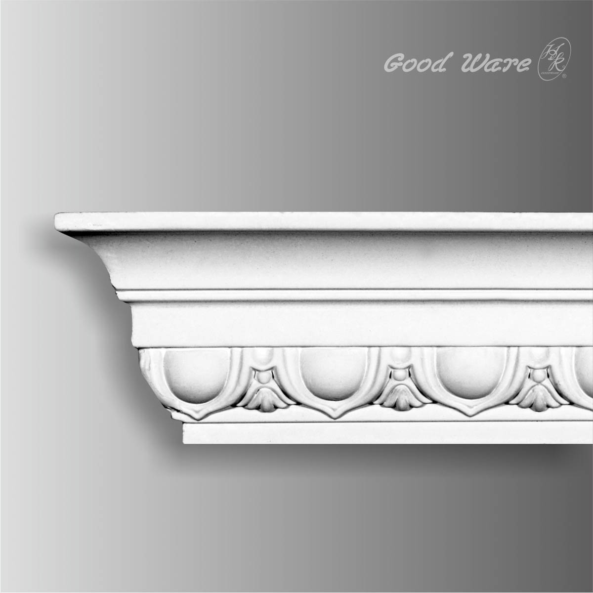 Wholesale egg and dart crown moulding