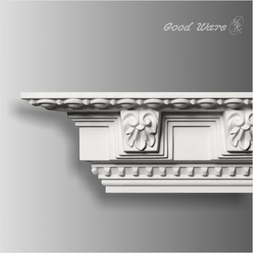Polyurethane baroque living room crown molding