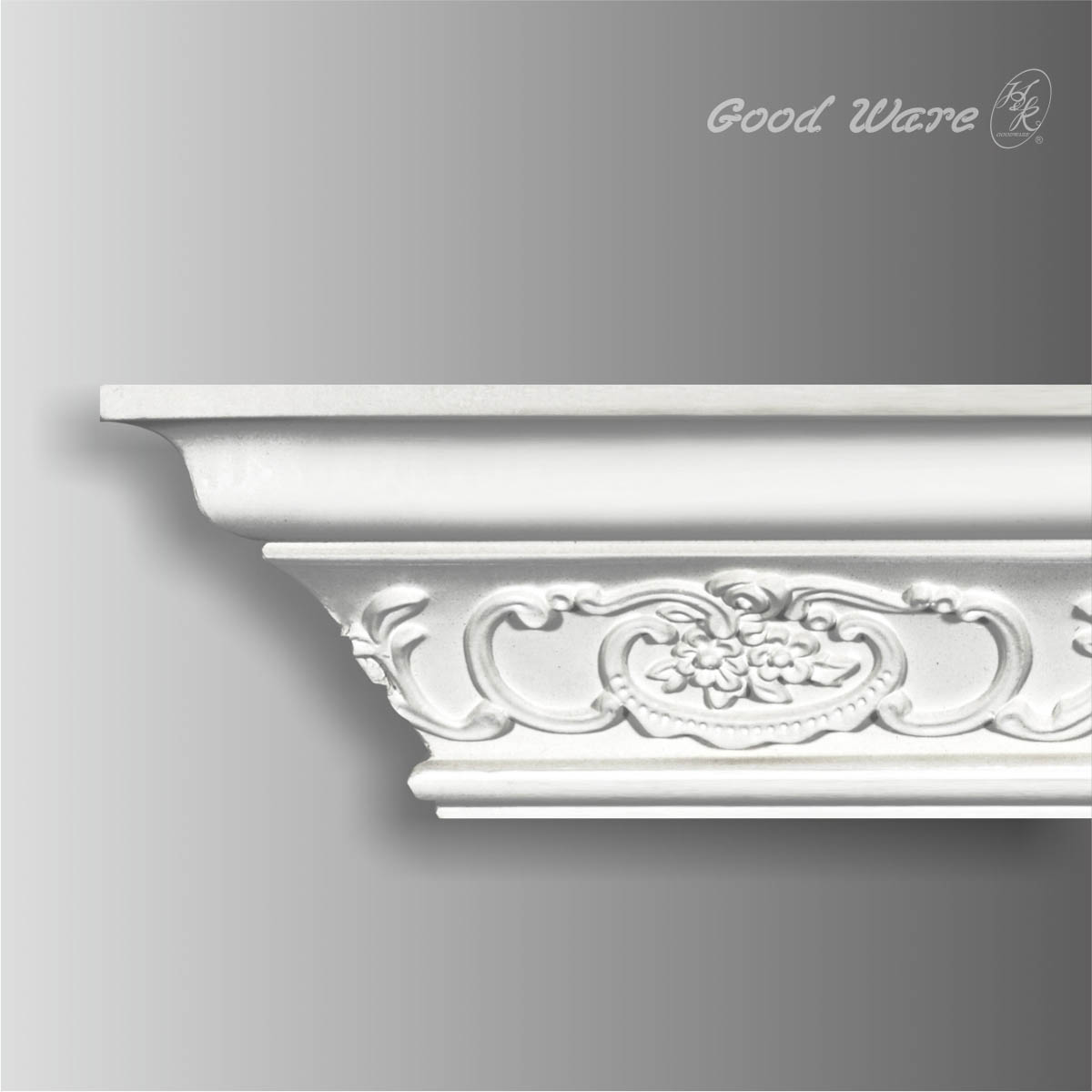 Polyurethane floral cornice mouldings