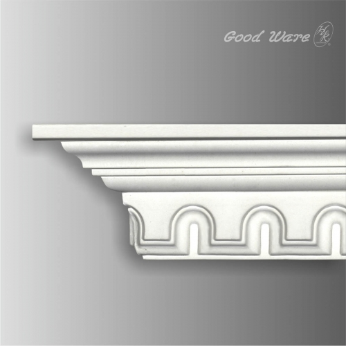 Polyurethane carved ceiling cornice moulding