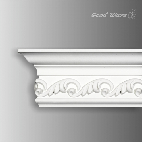 Decorative architectural crown molding