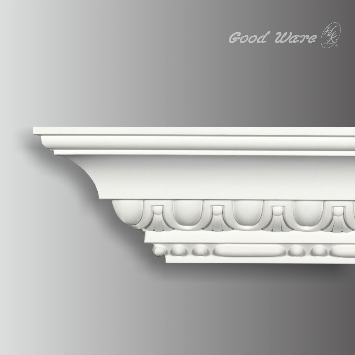 egg and dart baroque molding