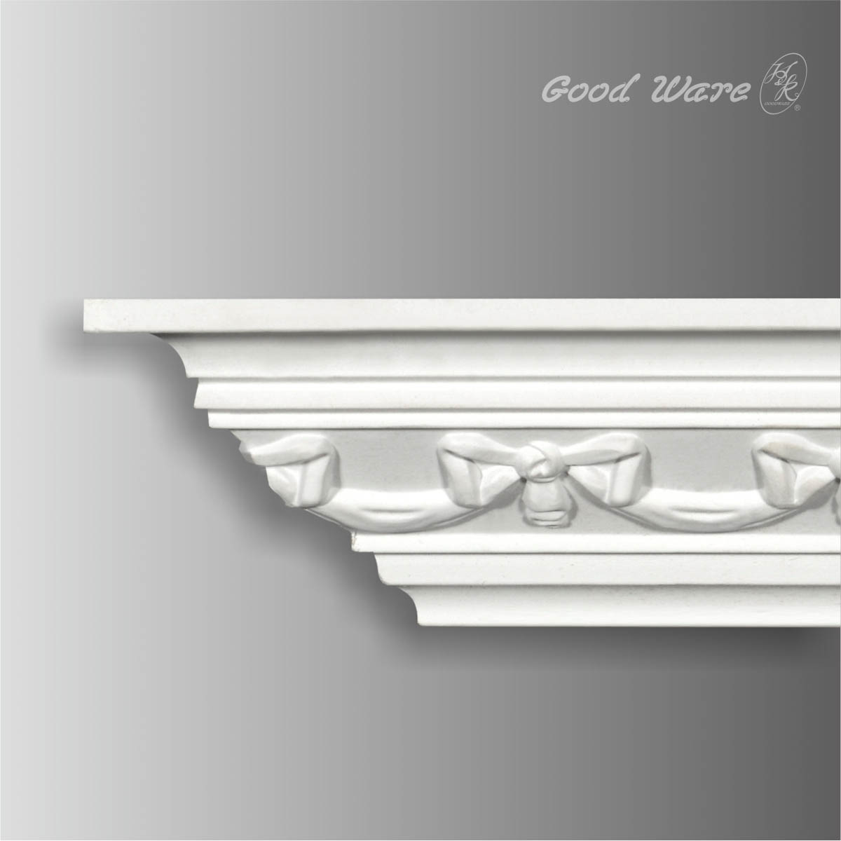 Polyurethane decorative crown ceiling molding