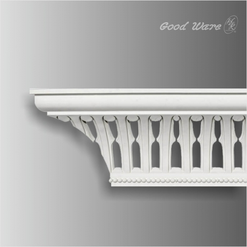 polyurethane ceiling light hollow crown molding