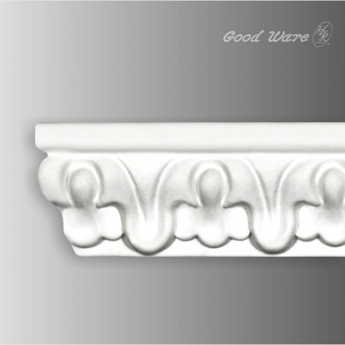 Polyurethane decorative chair rail moulding