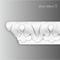 Polyurethane decorative chair rail molding