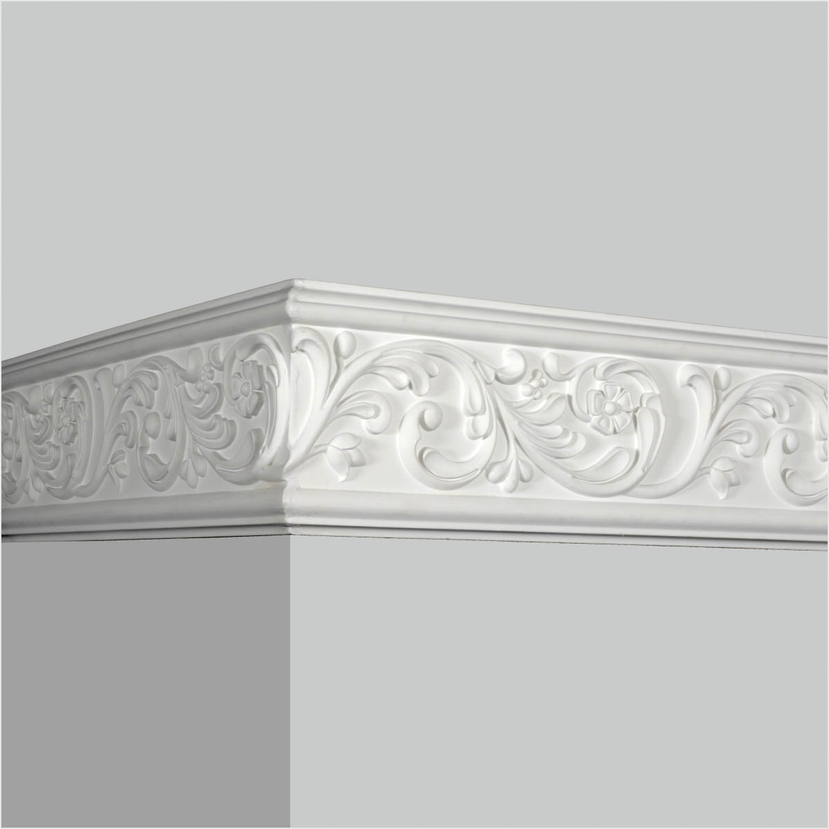 Polyurethane commercial chair rail molding for sale