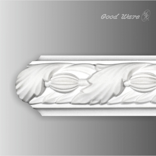 Decorative chair rail and panel molding
