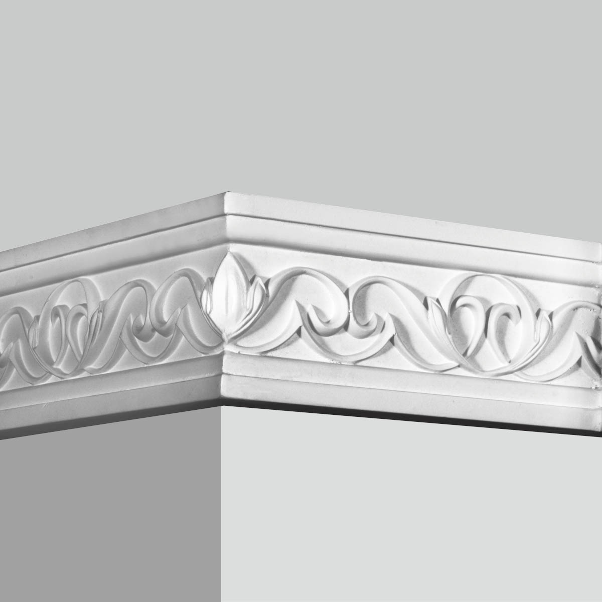 Polyurethane decorative frieze molding