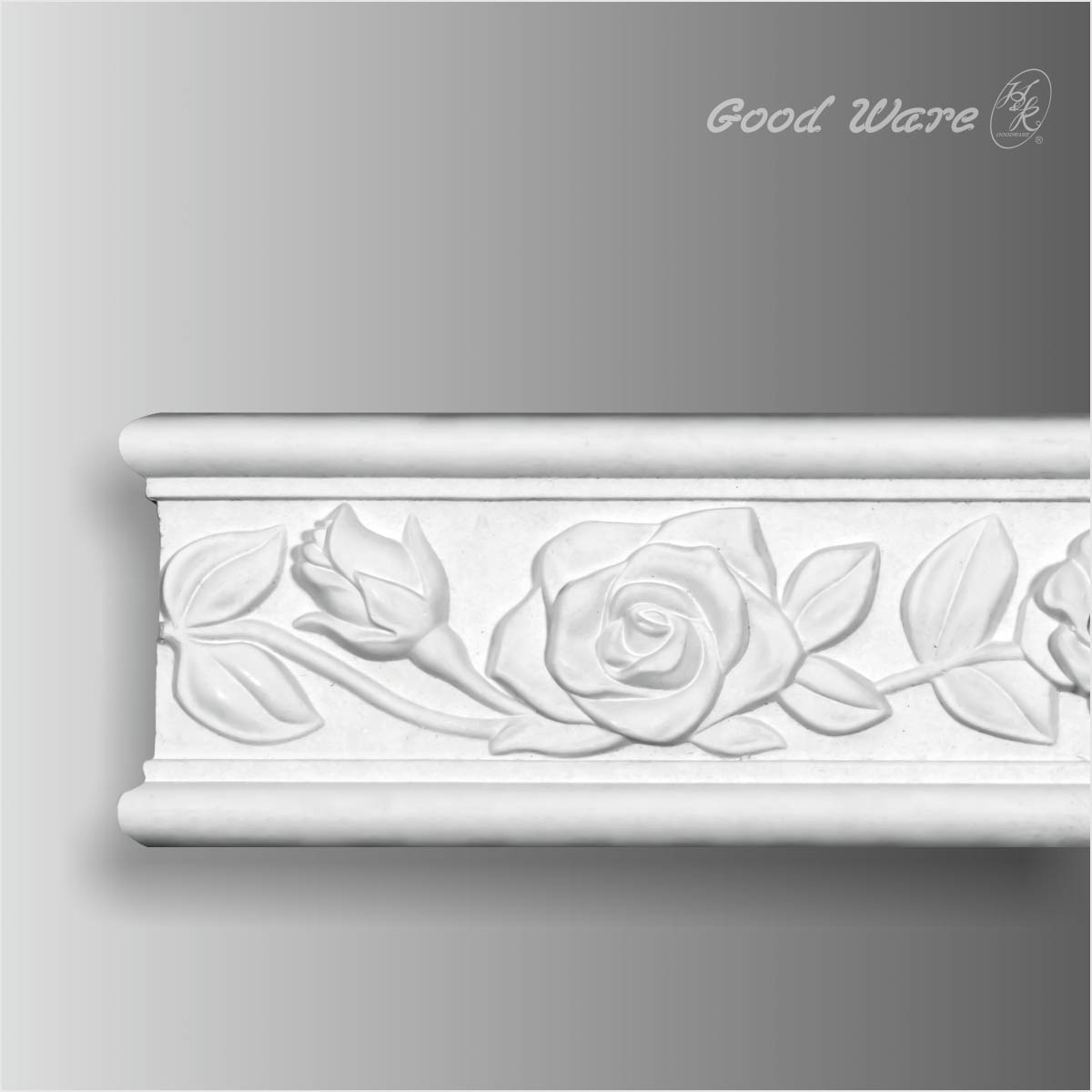 Polyurethane ornamental frieze moulding