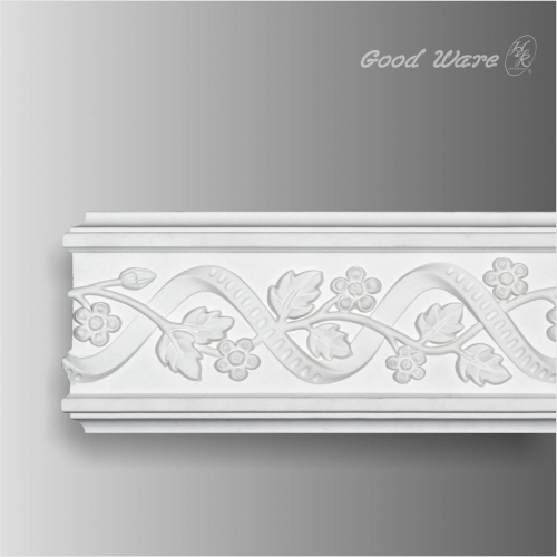 Decorative wall picture frame molding