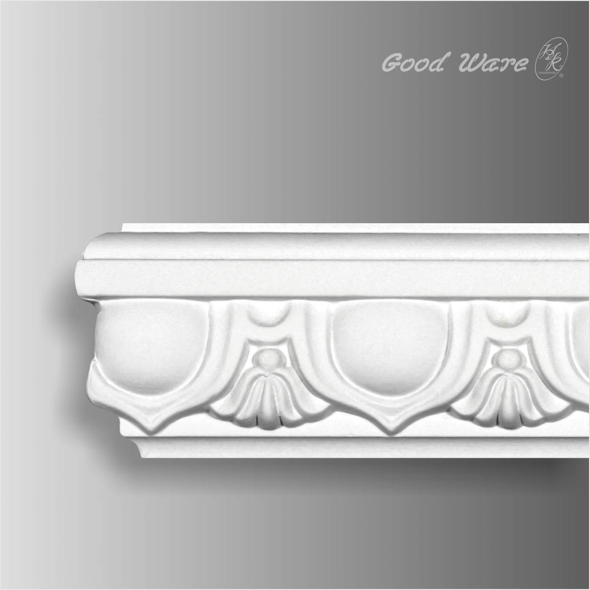 Polyurethane egg and dart wall moldings trim