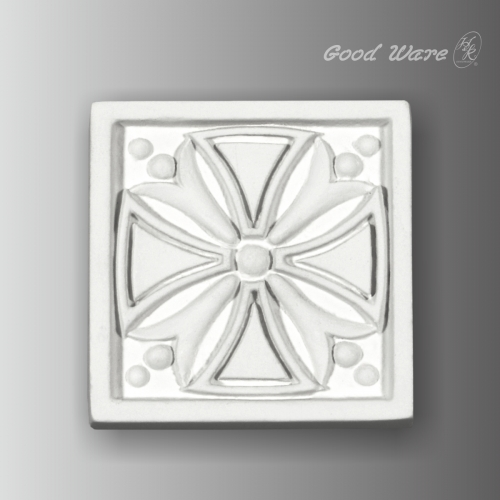 Polyurethane decorative corner block molding