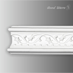 GP-1894 Decorative polyurethane white chair rail