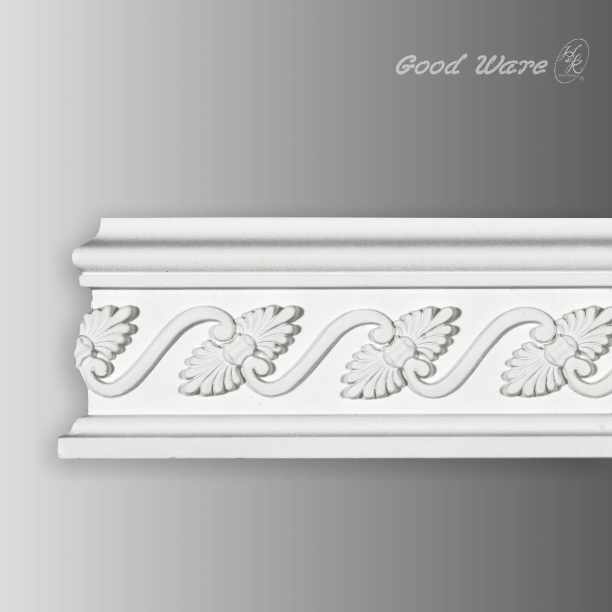 Polyurethane chair rail interior trim molding