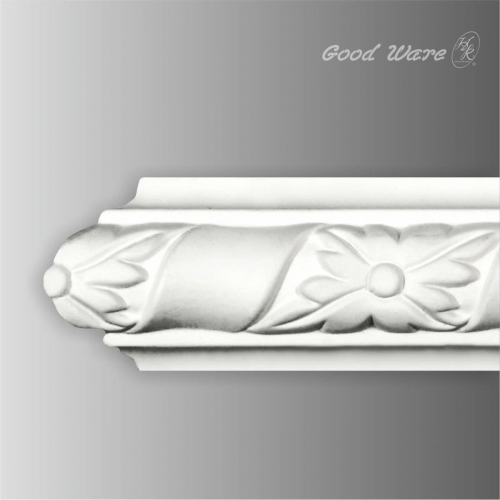 Polyurethane chair rail ceiling trim moulding
