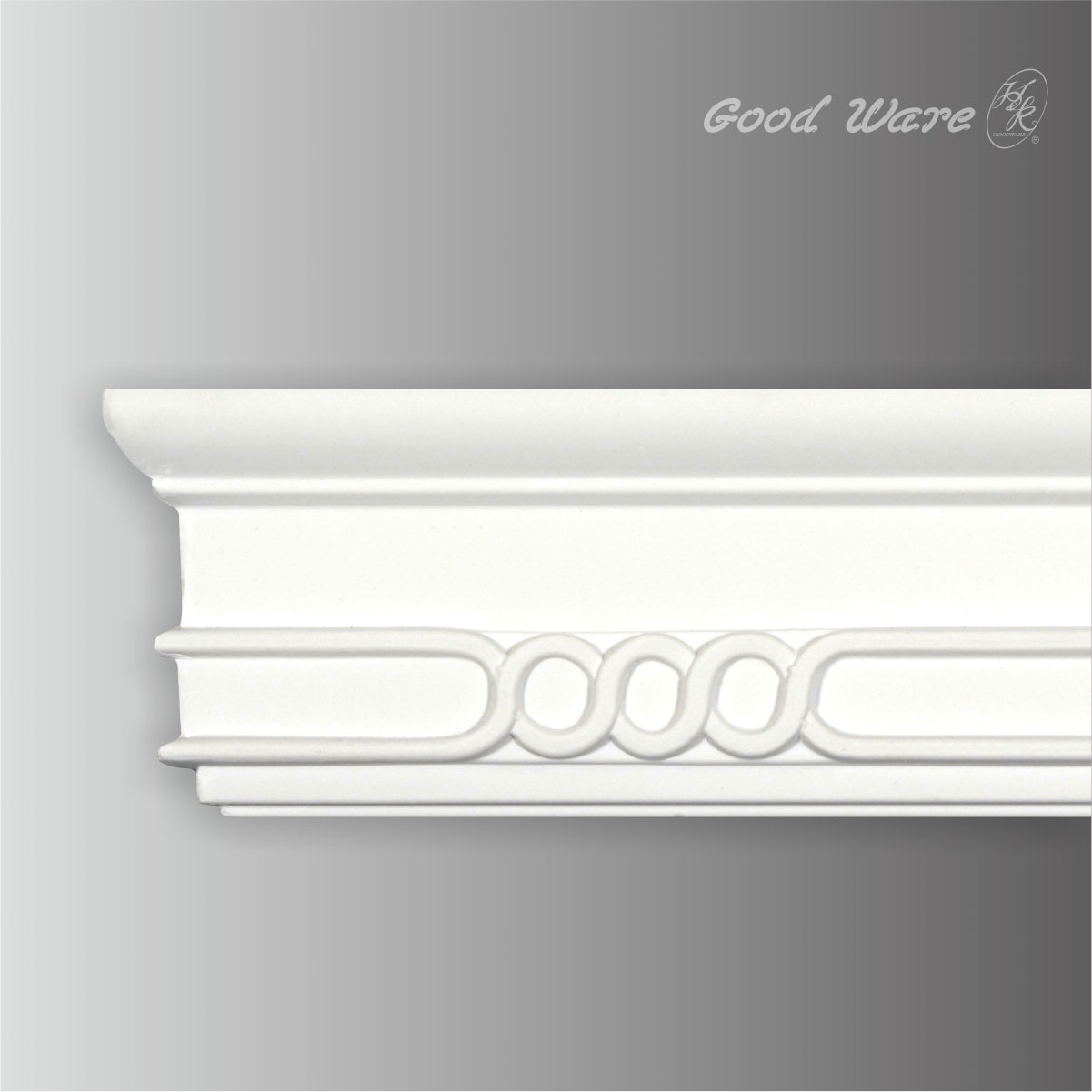 Polyurethane chair rail decorative wall moulding