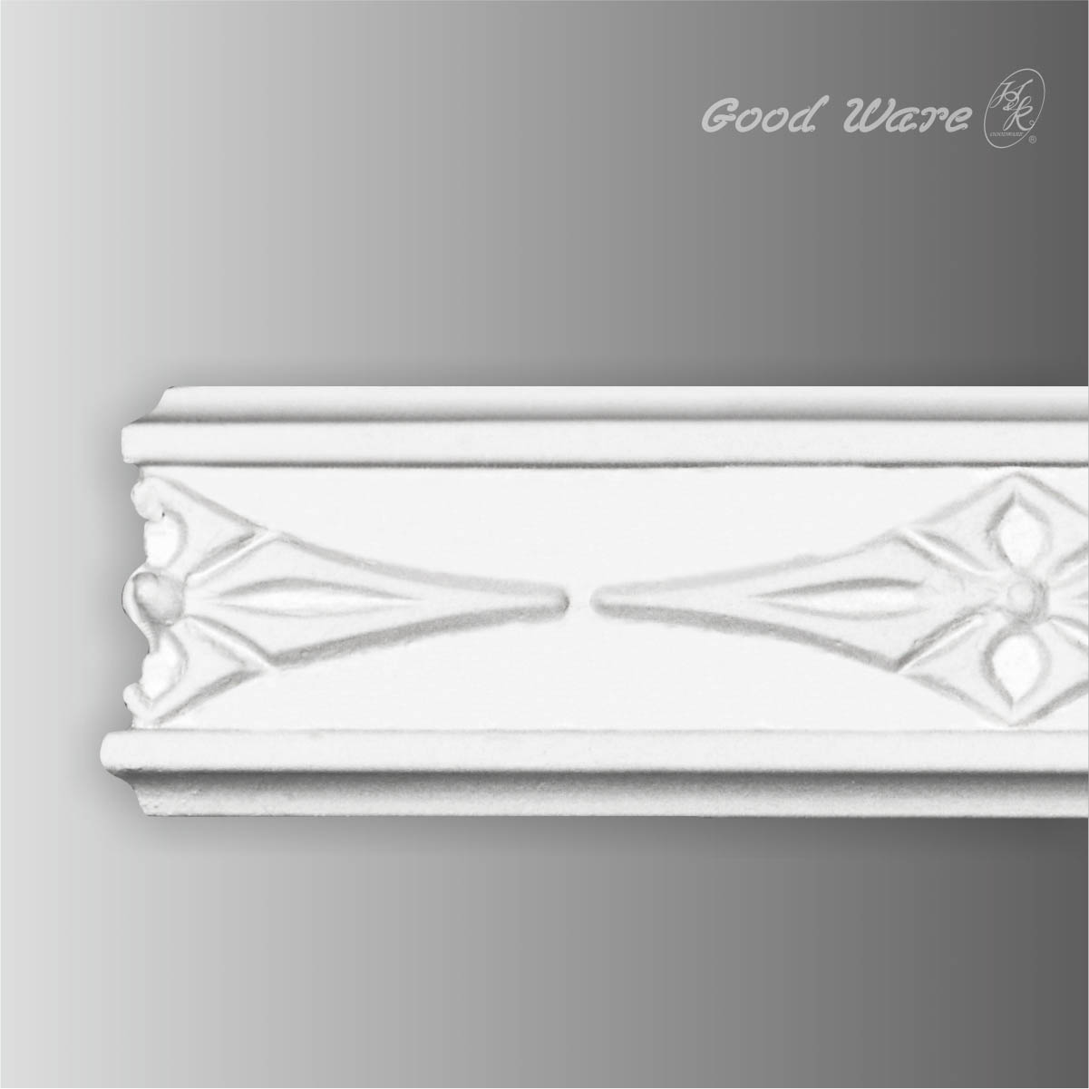 PU decorative picture rail moulding
