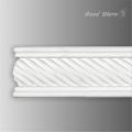 Decorative frieze rope trim molding