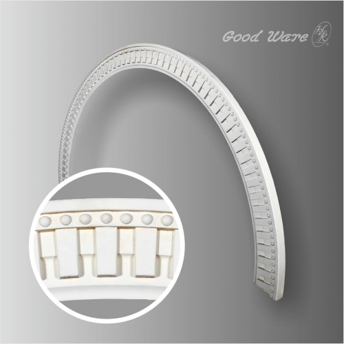 Polyurethane decor arched moldings trim