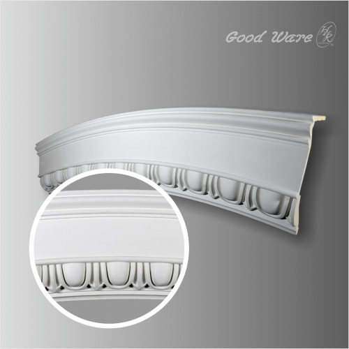 Large baroque ceiling rings molding