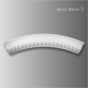 Egg and dart ceiling ring molding