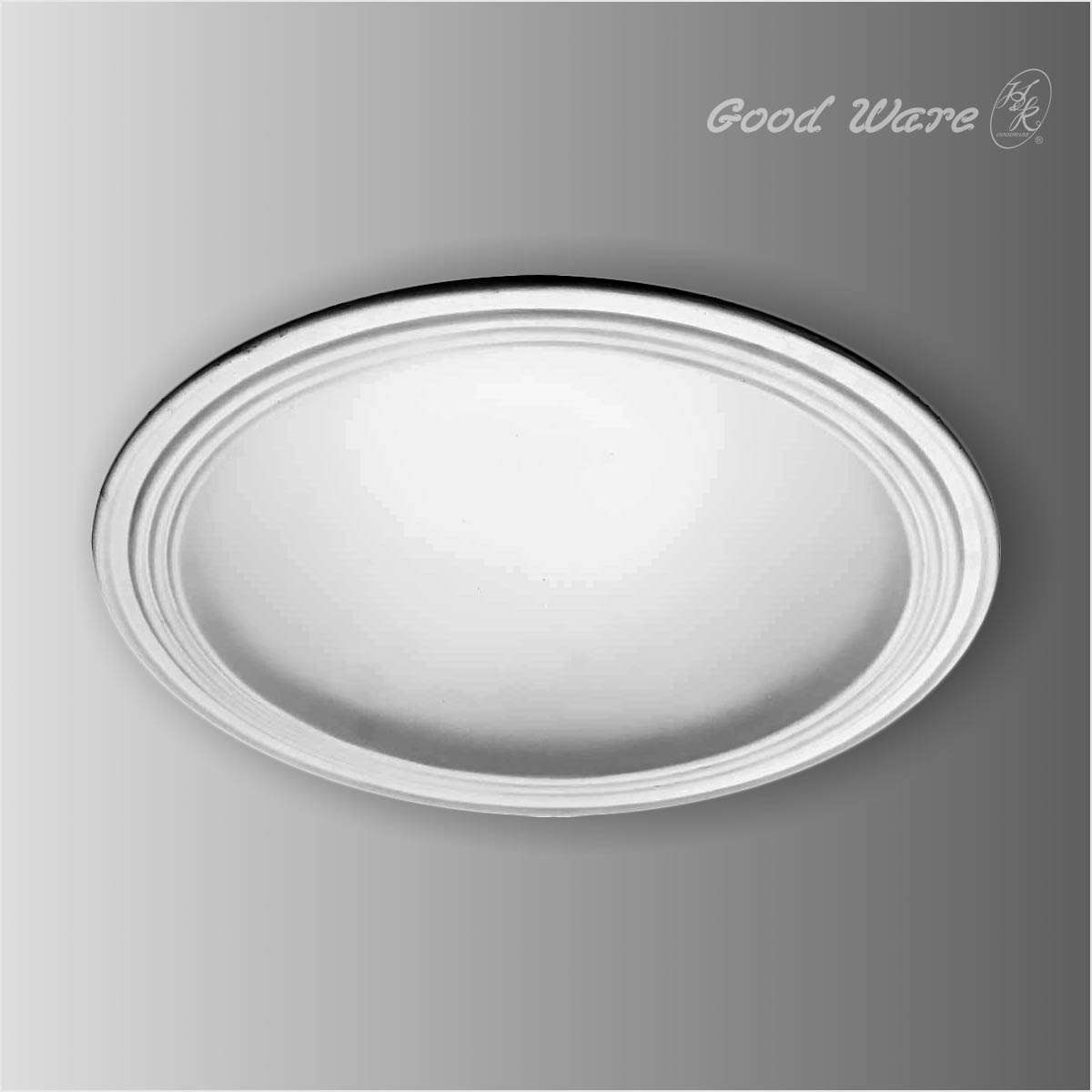 Plain simple recessed ceiling domes