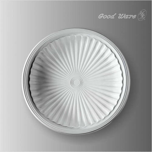 Polyurethane ceiling light fixtures domes for sale