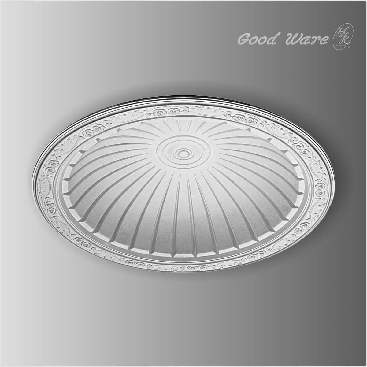 Architecture dome for ceiling light fixtures