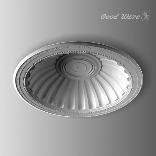 Polyurethane decorative ceiling dome for chandelier