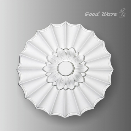 Small polyurethane ceiling medallion wall decor
