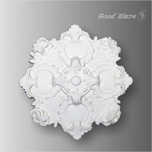 Decorative ceiling plate for chandelier