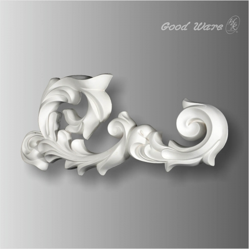 Polyurethane ornamental wall decor molding for sale