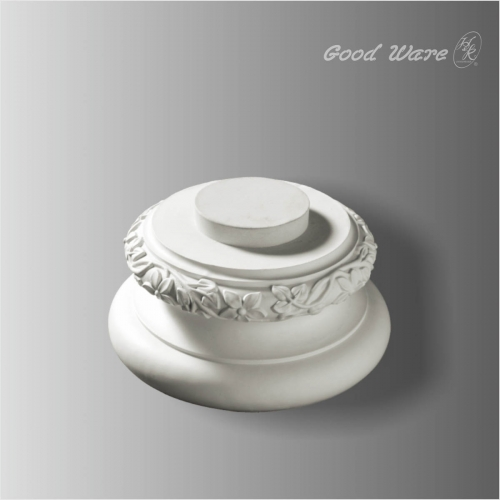 Polyurethane decorative column bases