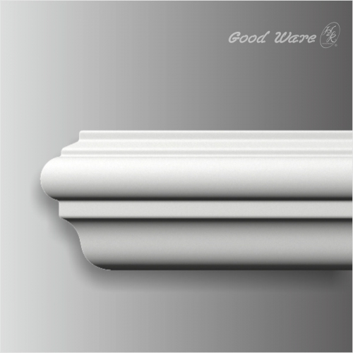 Small plain chair rail paneling molding