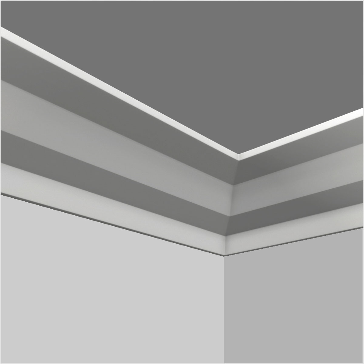 Polyurethane kitchen cabinet crown moulding supplier
