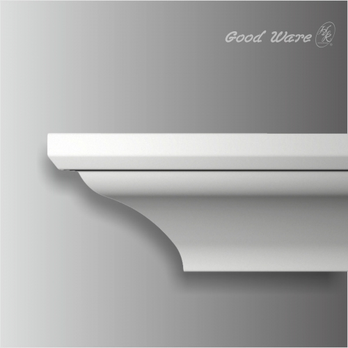 Polyurethane plain ceiling crown molding for sale