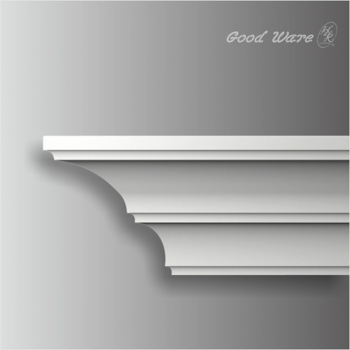 Polyurethane modern simple crown moulding