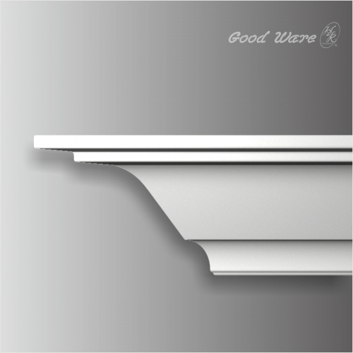 Polyurethane simple interior crown molding