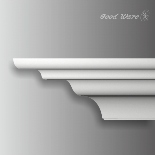 Polyurethane unique crown molding for sale