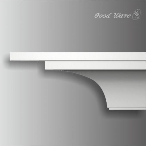 Polyurethane outdoor crown molding