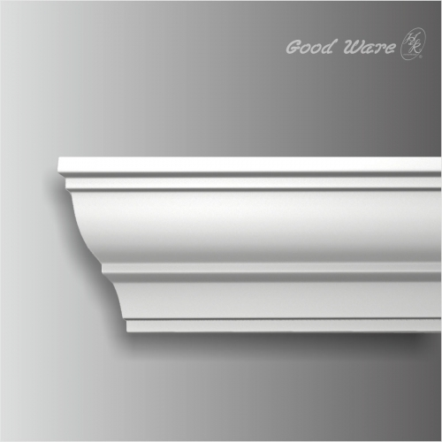 Polyurethane small plain cabinet crown molding