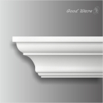 HK-303 Polyurethane simple plain crown molding
