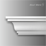 HK-304 PU plain contemporary crown molding