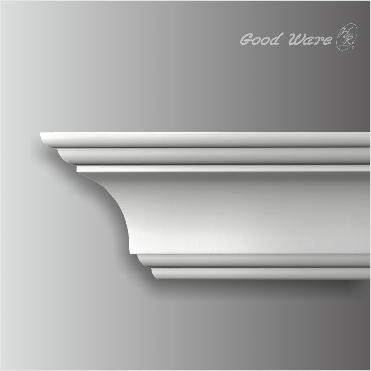 polyurethane smooth crown molding
