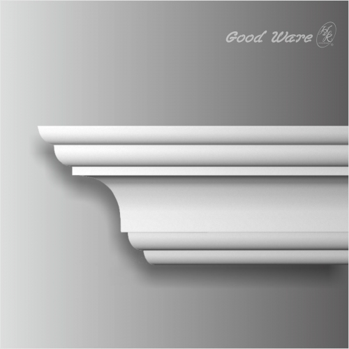 polyurethane smooth thick crown molding