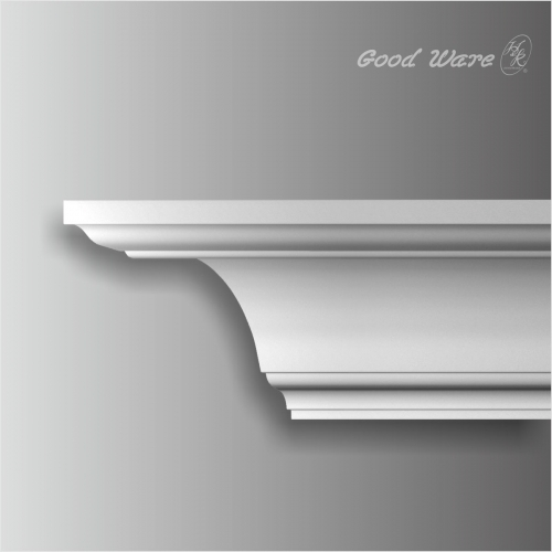 contemporary bedroom crown molding