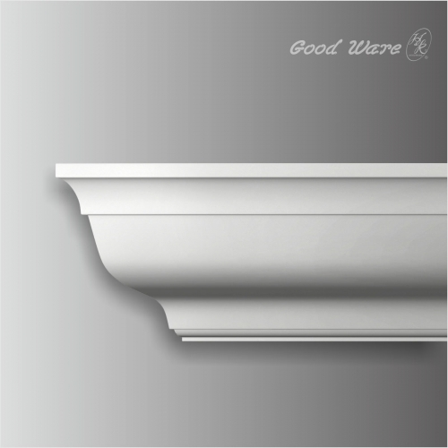 polyurethane plain wholesale crown molding