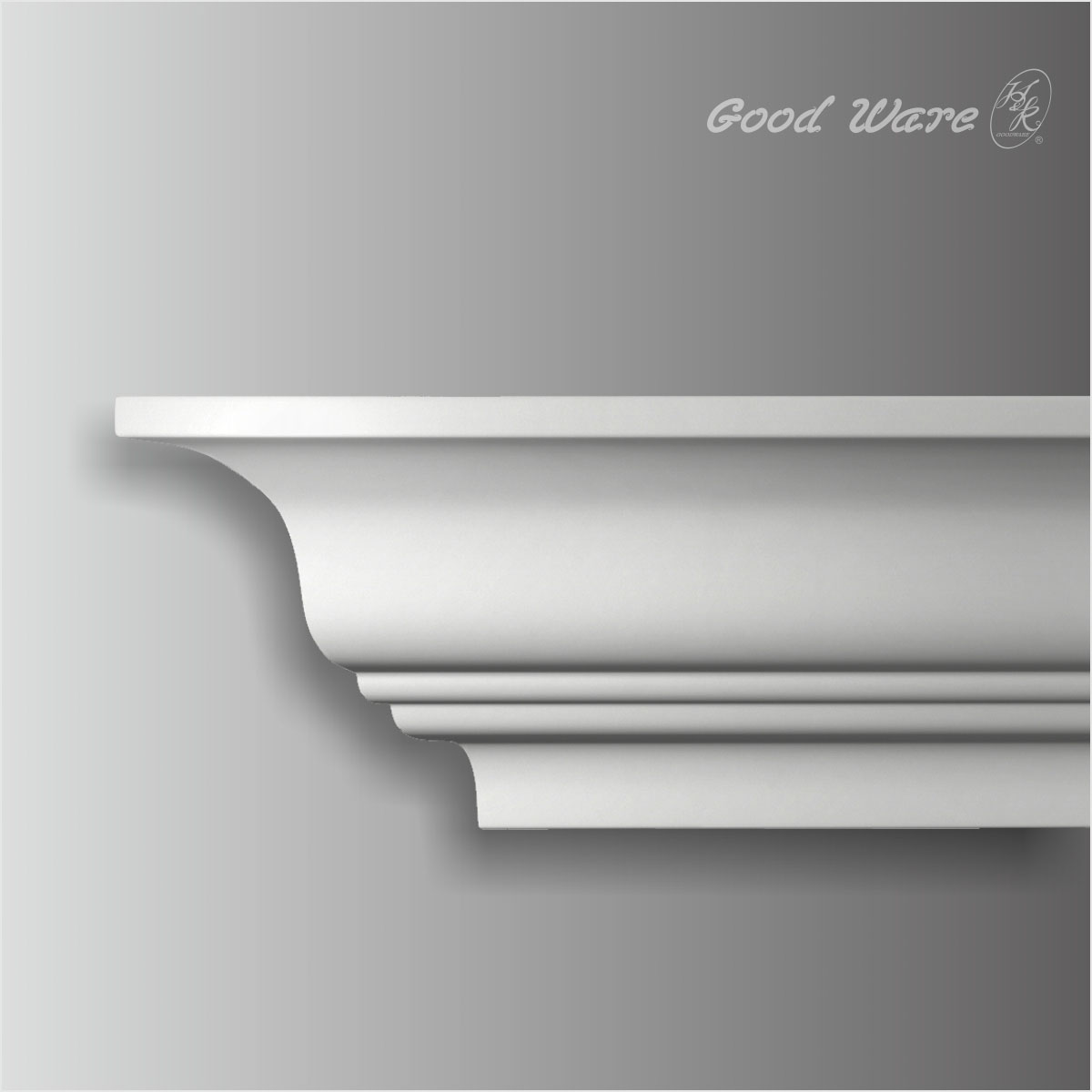 traditional polyurethane solid crown molding