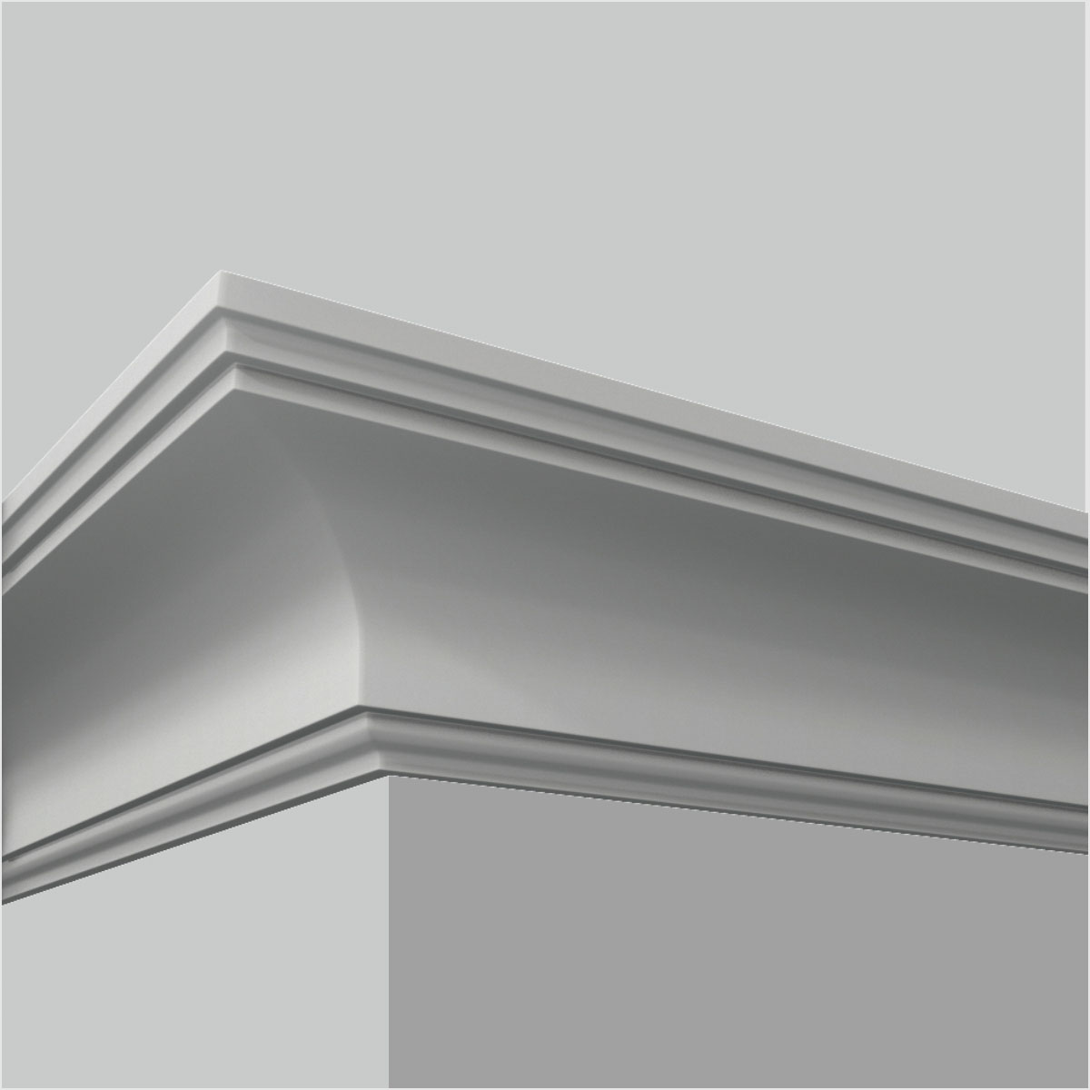 polyurethane 8 foot ceiling crown molding